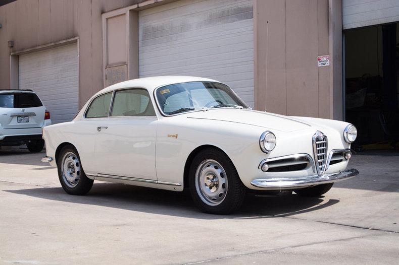 1958 Alfa Romeo Giulietta Sprint