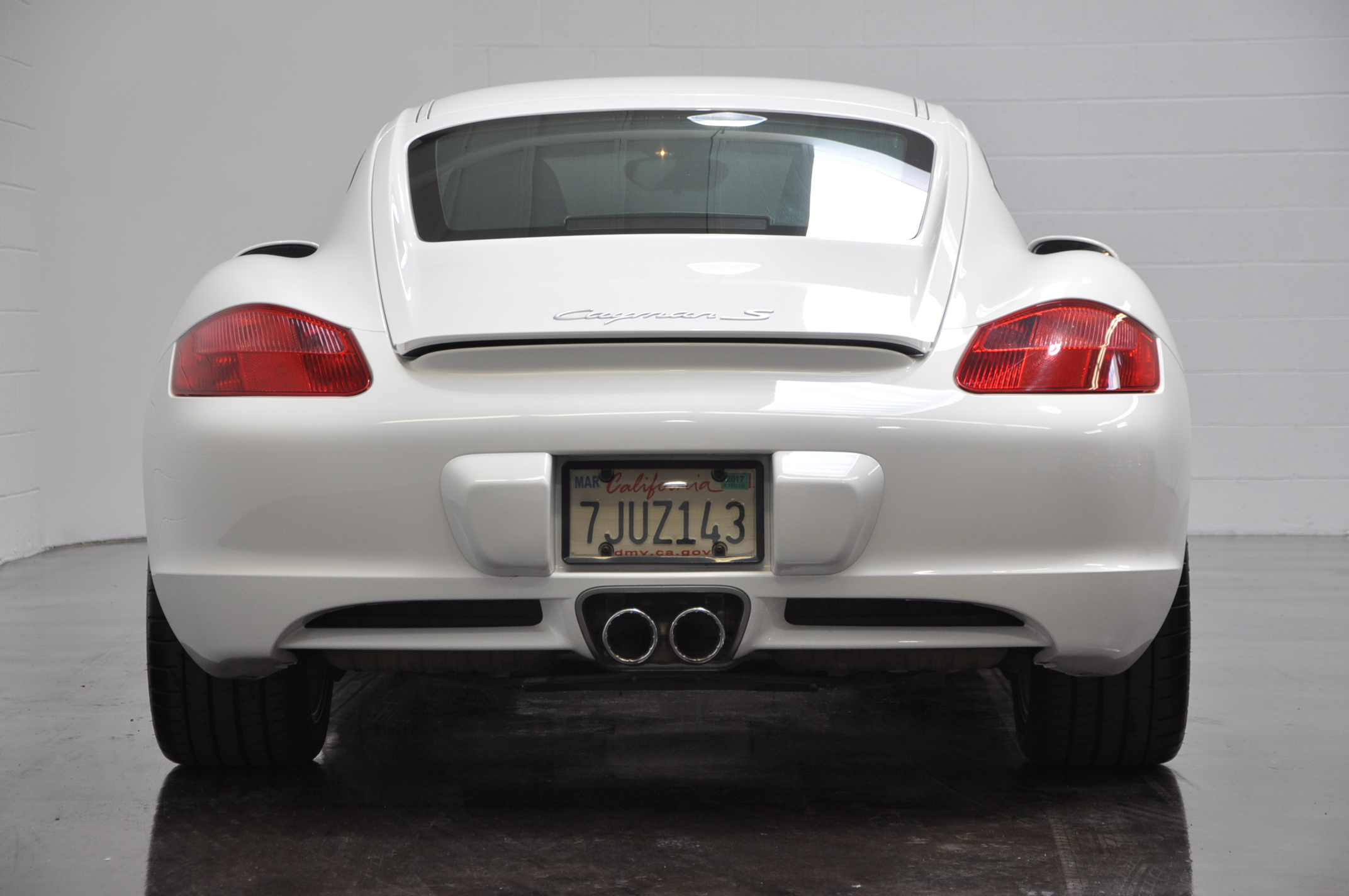 2008 Porsche Cayman European Collectibles