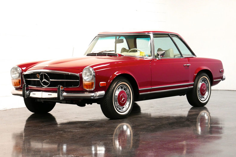 1970 mercedes benz 280sl european collectibles. Black Bedroom Furniture Sets. Home Design Ideas