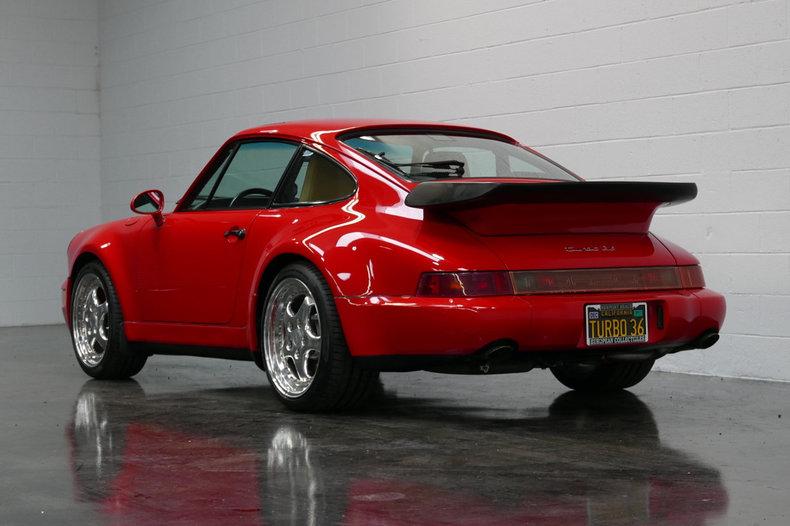 1994 porsche 911 turbo 3 6 coupe for sale 76628 mcg. Black Bedroom Furniture Sets. Home Design Ideas