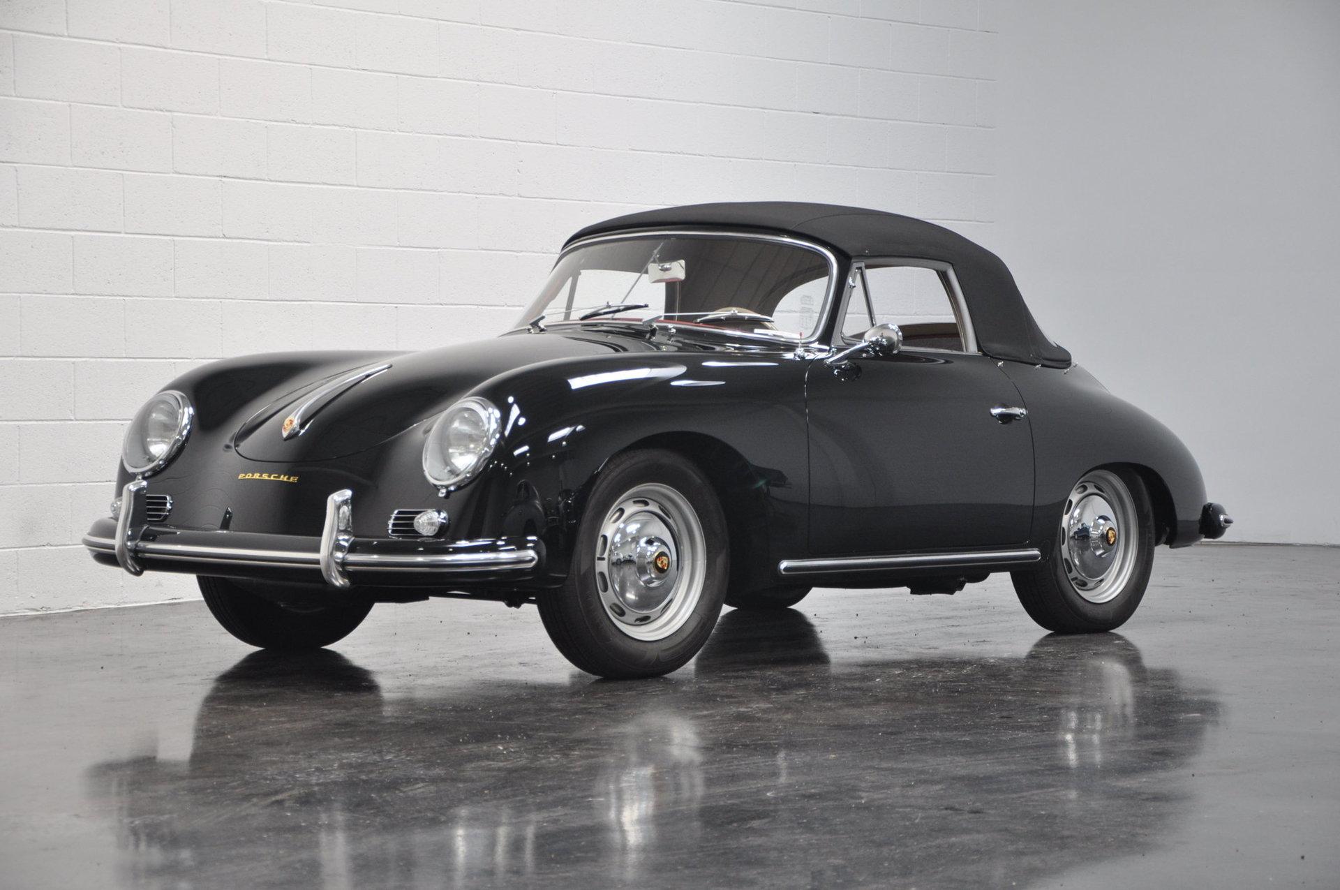 1958 porsche 356a super cabriolet for sale 80794 mcg. Black Bedroom Furniture Sets. Home Design Ideas