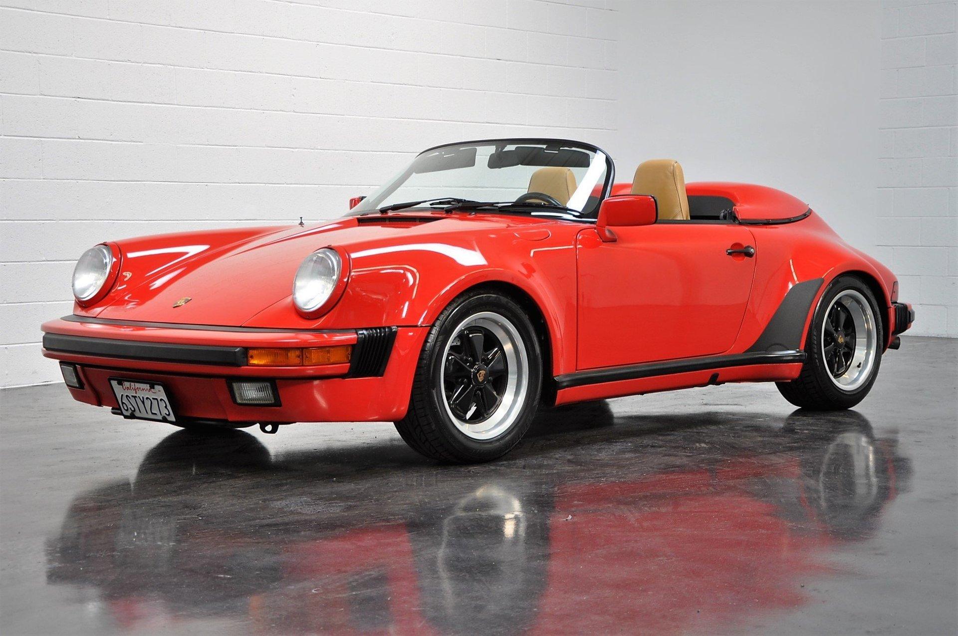 1989 Porsche 911 Speedster For Sale 86613 Mcg