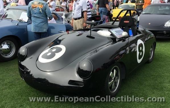1960 Porsche 356 Roadster Race Car European Collectibles