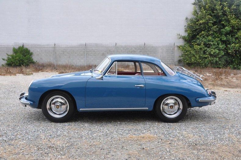 1962 Porsche 356b Karmann Hardtop Coupe European