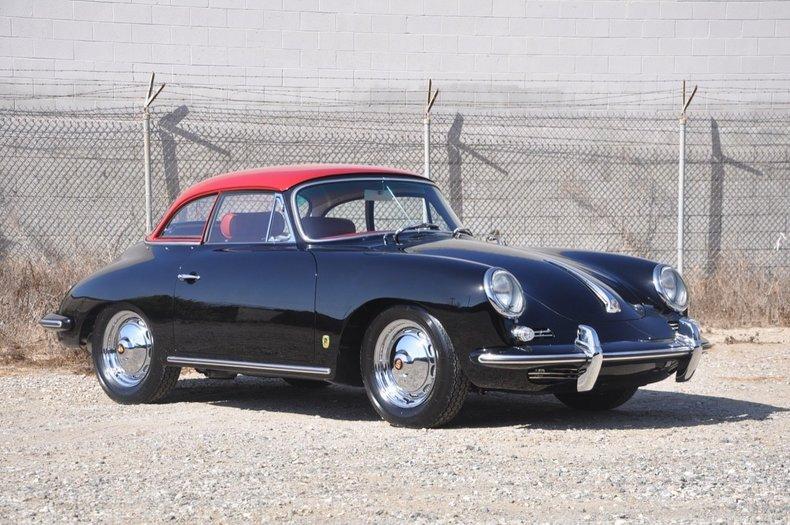 1962 Porsche 356b Cabriolet European Collectibles