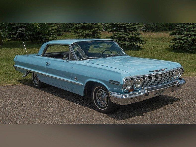 1963 chevrolet impala ss for sale 64224 mcg. Black Bedroom Furniture Sets. Home Design Ideas