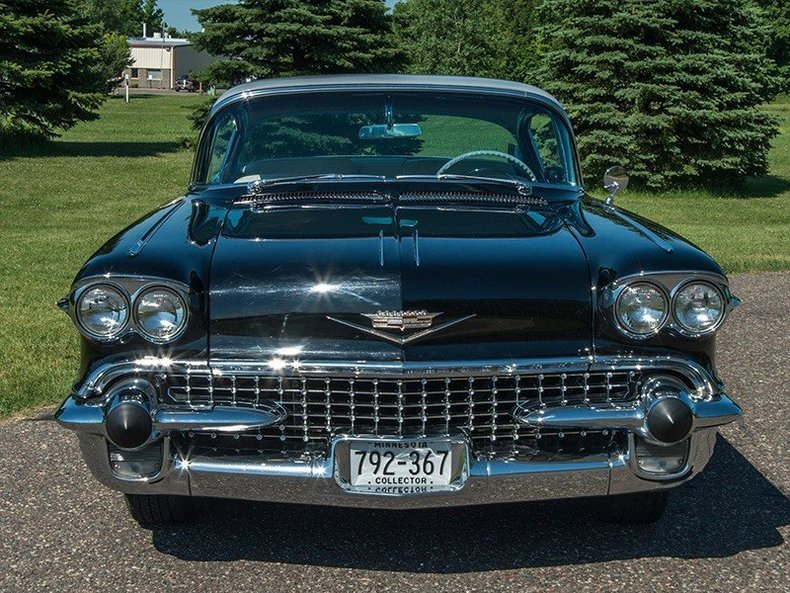 1958 cadillac deville classic car dealer rogers minnesota ellingson motorcars. Black Bedroom Furniture Sets. Home Design Ideas