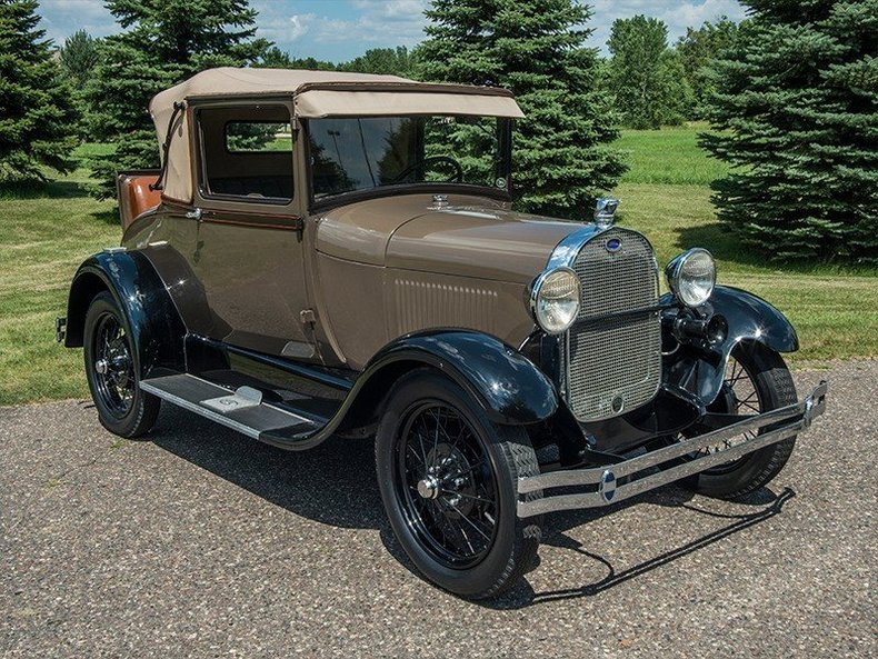 1929 Ford Model A Sport Coupe & 1929 Ford Model A Sport Coupe | Classic Car Dealer Rogers ... markmcfarlin.com