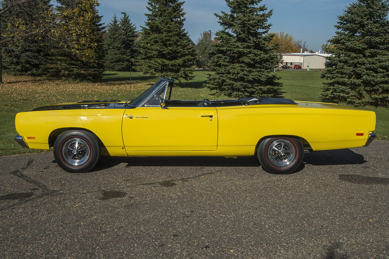 1969 Plymouth Roadrunner Convertible For Sale 68568 Mcg