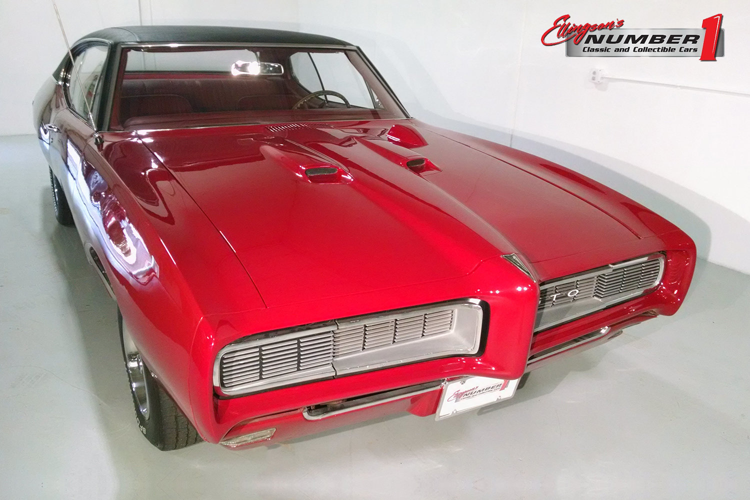 1968 pontiac gto for sale 84547 mcg. Black Bedroom Furniture Sets. Home Design Ideas