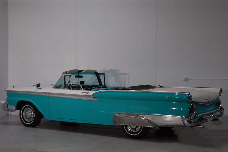 1959 Ford Galaxie 500 Convertible Sunliner For Sale 88427