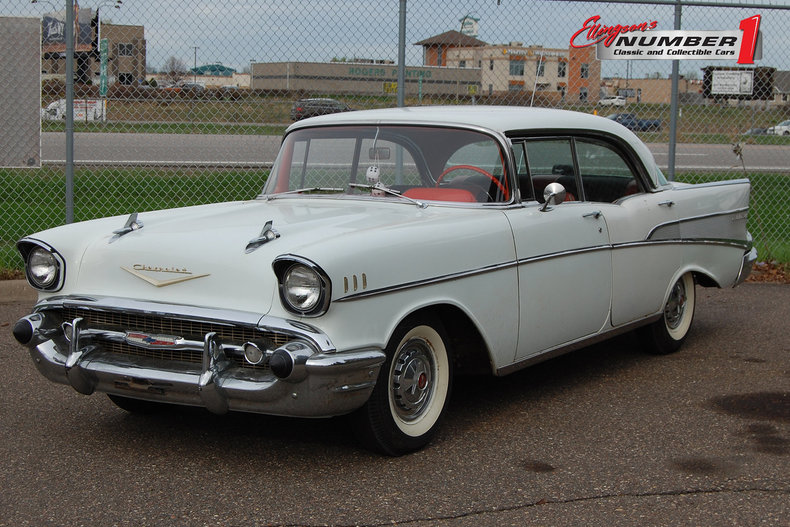 1957 Chevrolet Bel-Air 4dr Hdtp