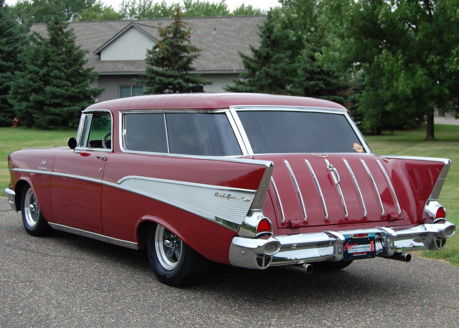 1957 Chevrolet Nomad Berlin Motors Chevy Wagon For Sale