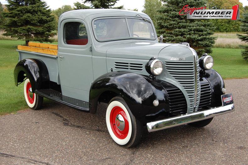 1939 Plymouth 1/2 Ton Pickup