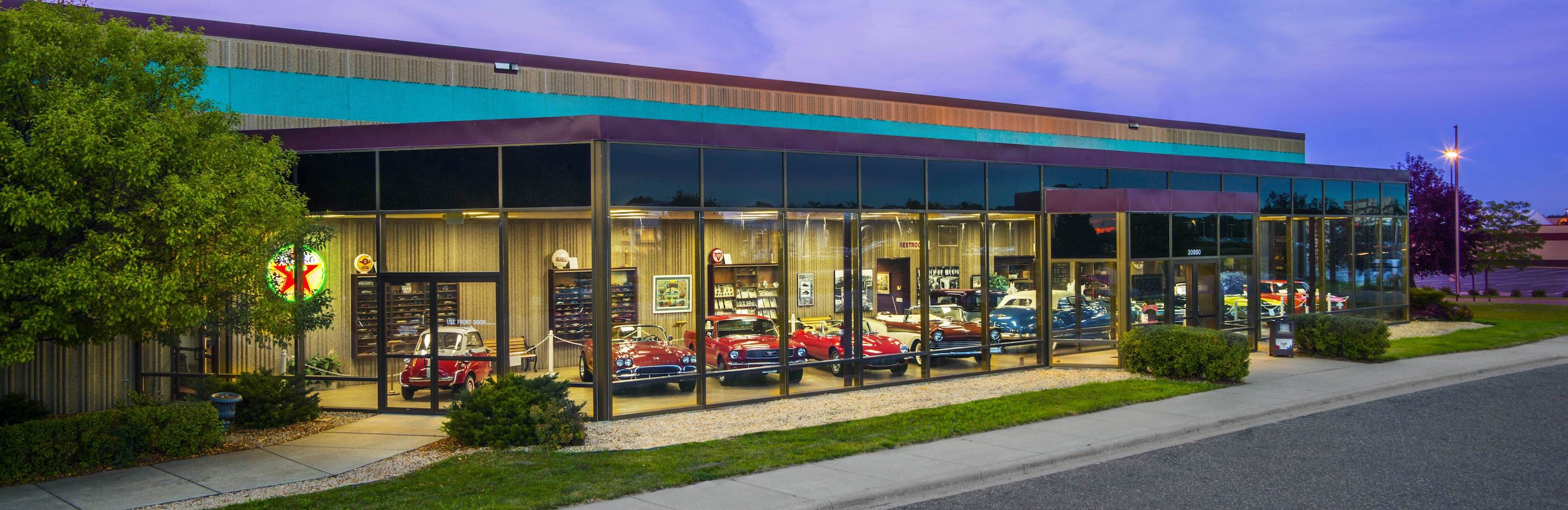 from car museum to classic car dealer classic car dealer rogers minnesota ellingson motorcars. Black Bedroom Furniture Sets. Home Design Ideas