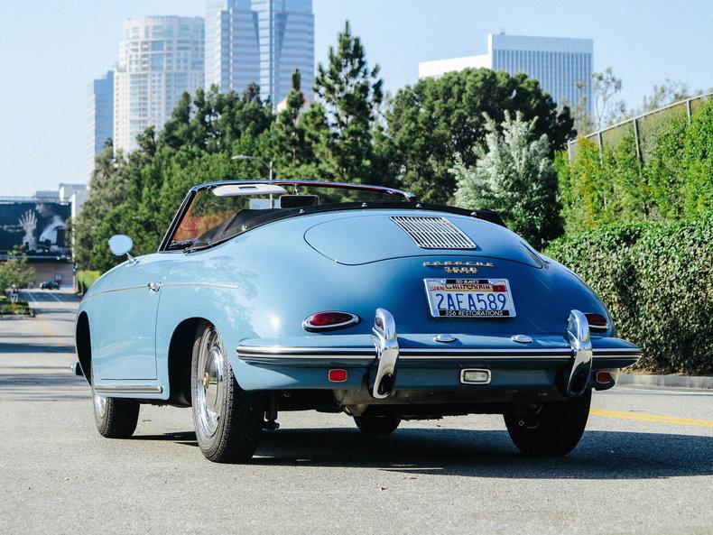 1960 Porsche 356B Roadster