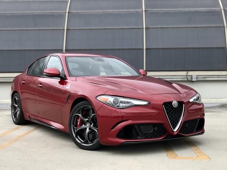 2017 Alfa Romeo Giulia Quadrifoglio For Sale #70144