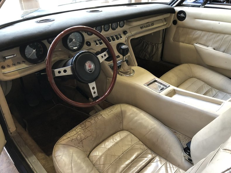 1971 Maserati Ghibli 4.9SS