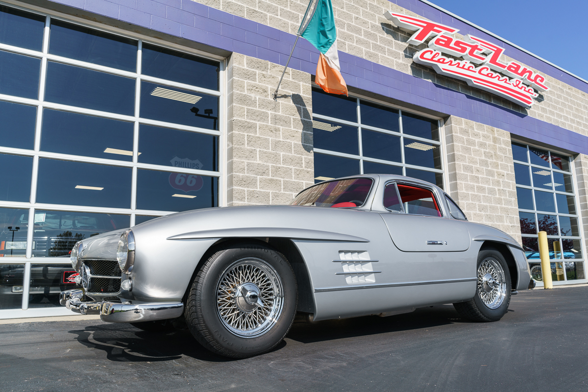 1955 mercedes benz gullwing 300sl replica fast lane for Mercedes benz st charles mo