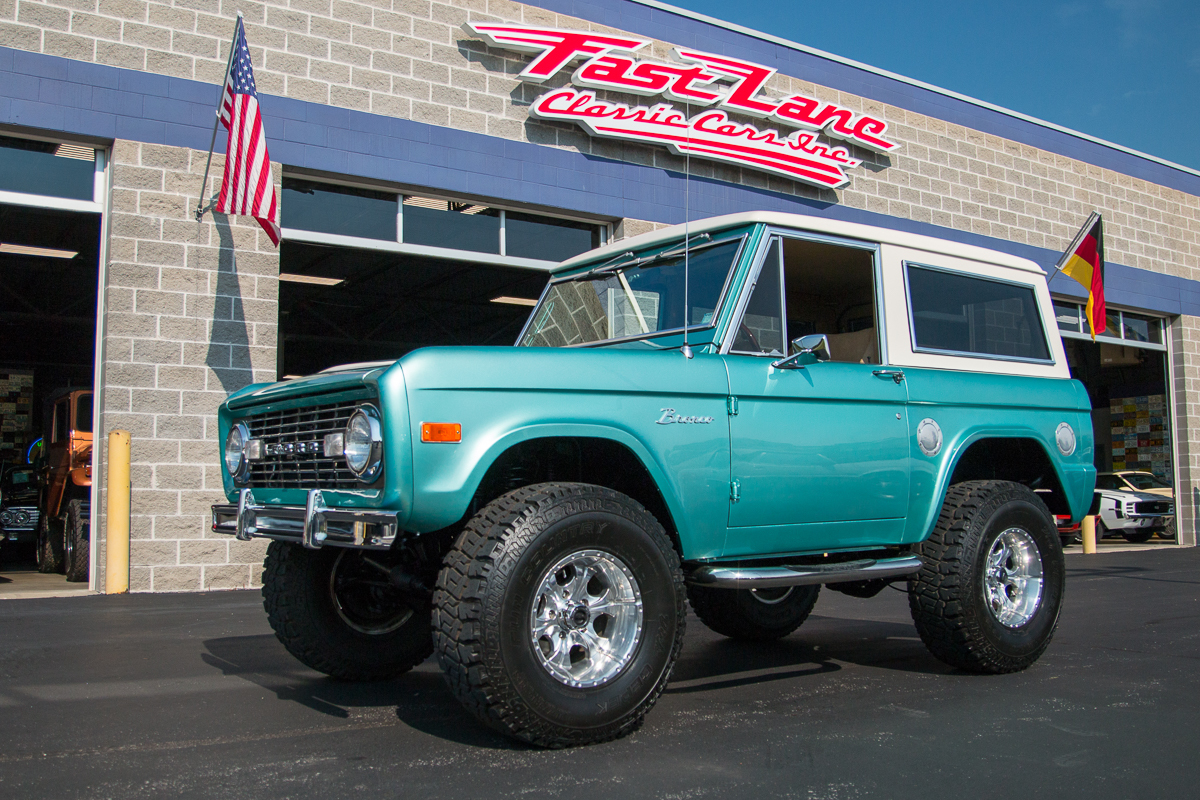 1977 ford bronco fast lane classic cars for Bronco motors used cars