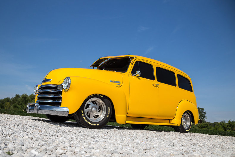1952 Chevrolet Suburban Clam Shell Carry All
