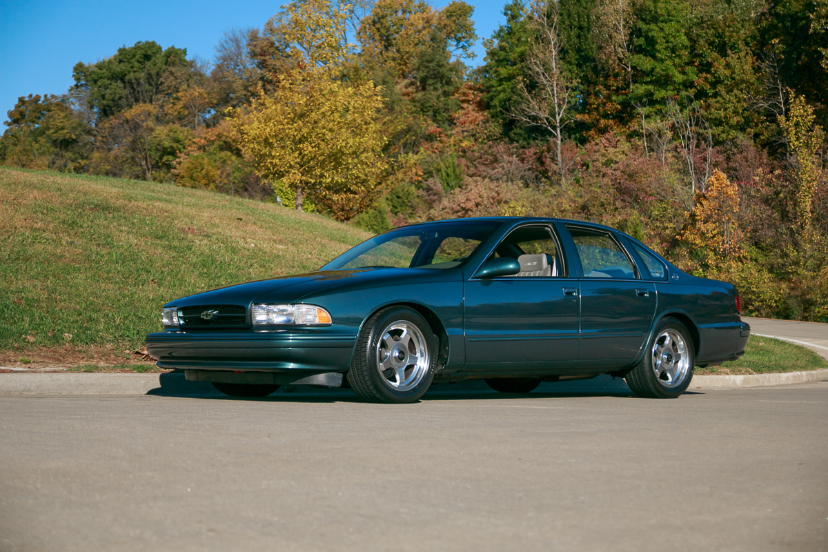 1996 Chevrolet Impala Ss Fast Lane Classic Cars
