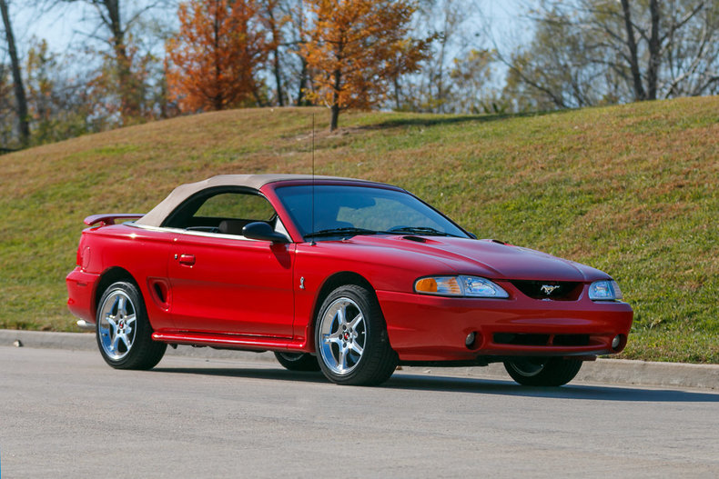 1997 ford mustang cobra for sale 33315 mcg. Black Bedroom Furniture Sets. Home Design Ideas