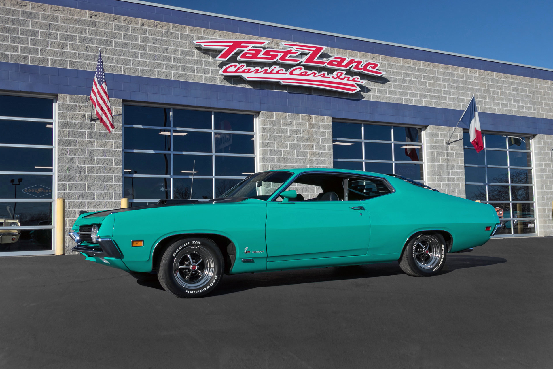 1970 Ford Torino Fast Lane Classic Cars Thunderbird 2 Door