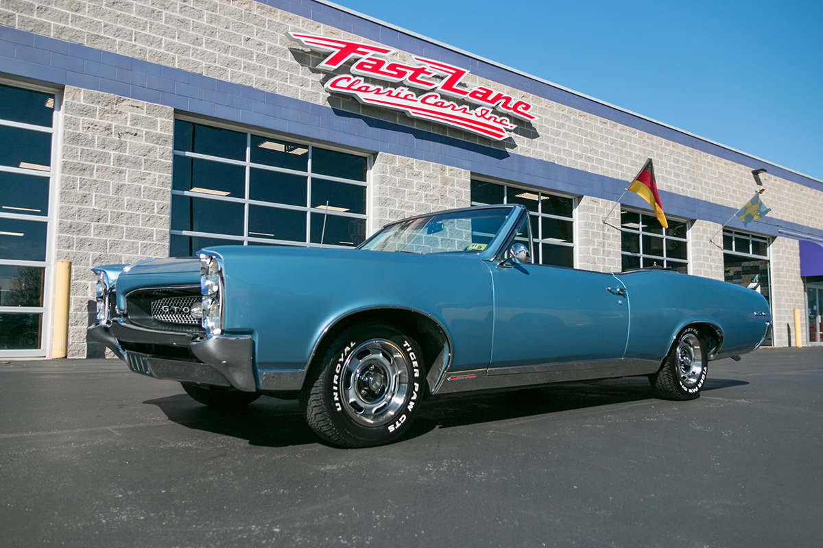 Sold Inventory Fast Lane Classic Cars 1965 Pontiac Gto Tripower 4speed Starlight Black With 1967
