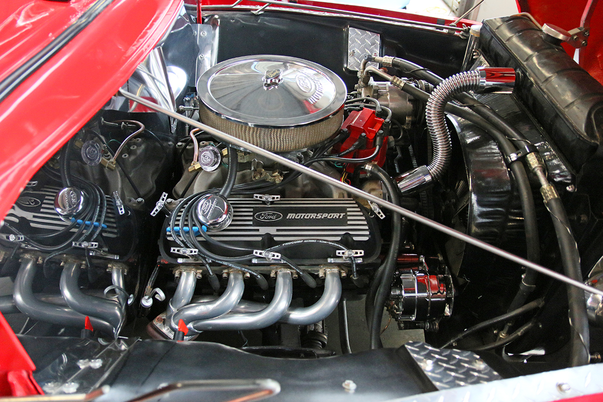 1956 Ford F100 Fast Lane Classic Cars Engine