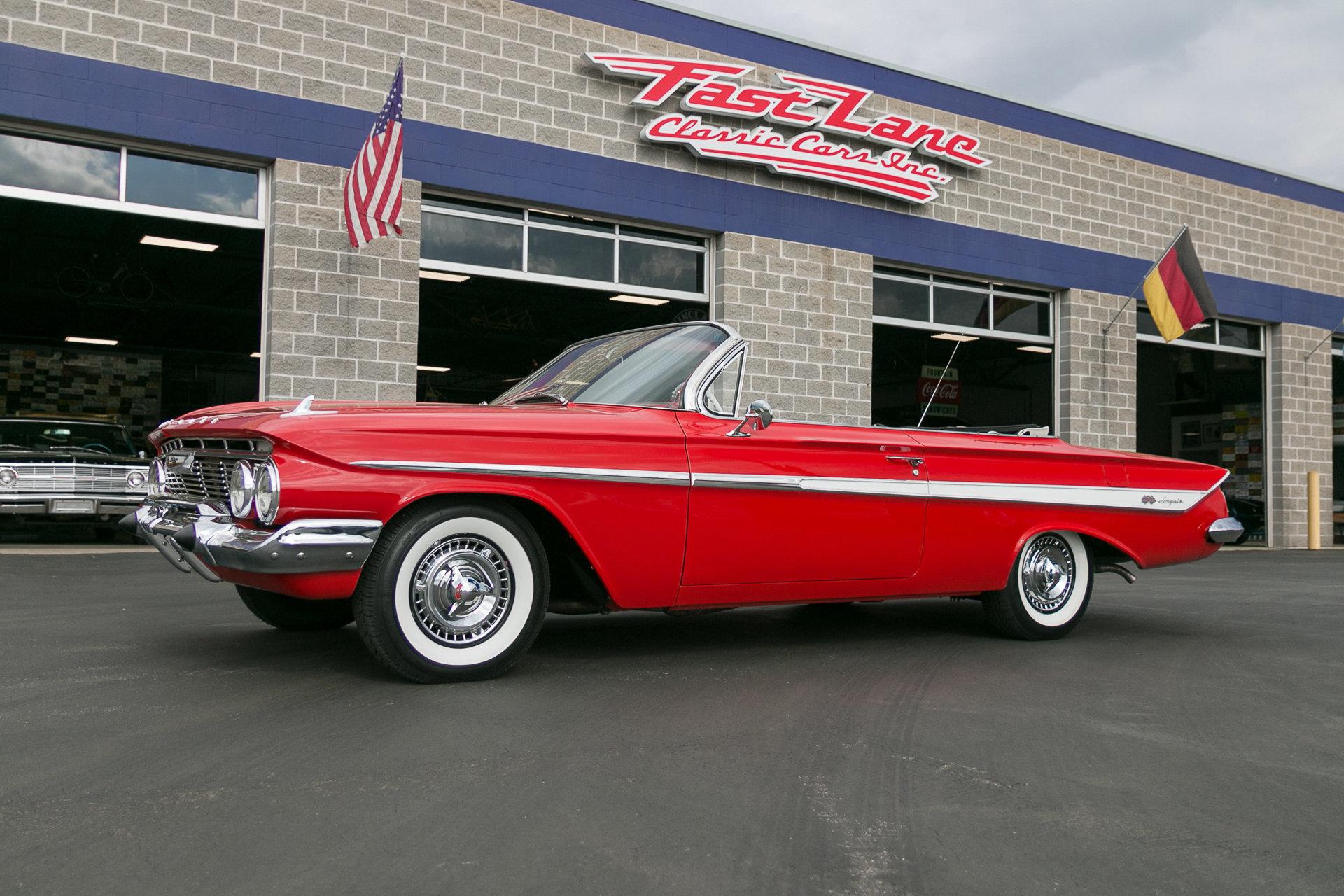 1961 Chevrolet Impala | Fast Lane Clic Cars