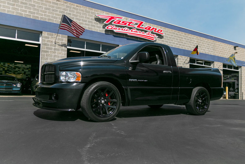 2004 dodge ram 1500 srt 10 standard cab pickup 2 door. Black Bedroom Furniture Sets. Home Design Ideas