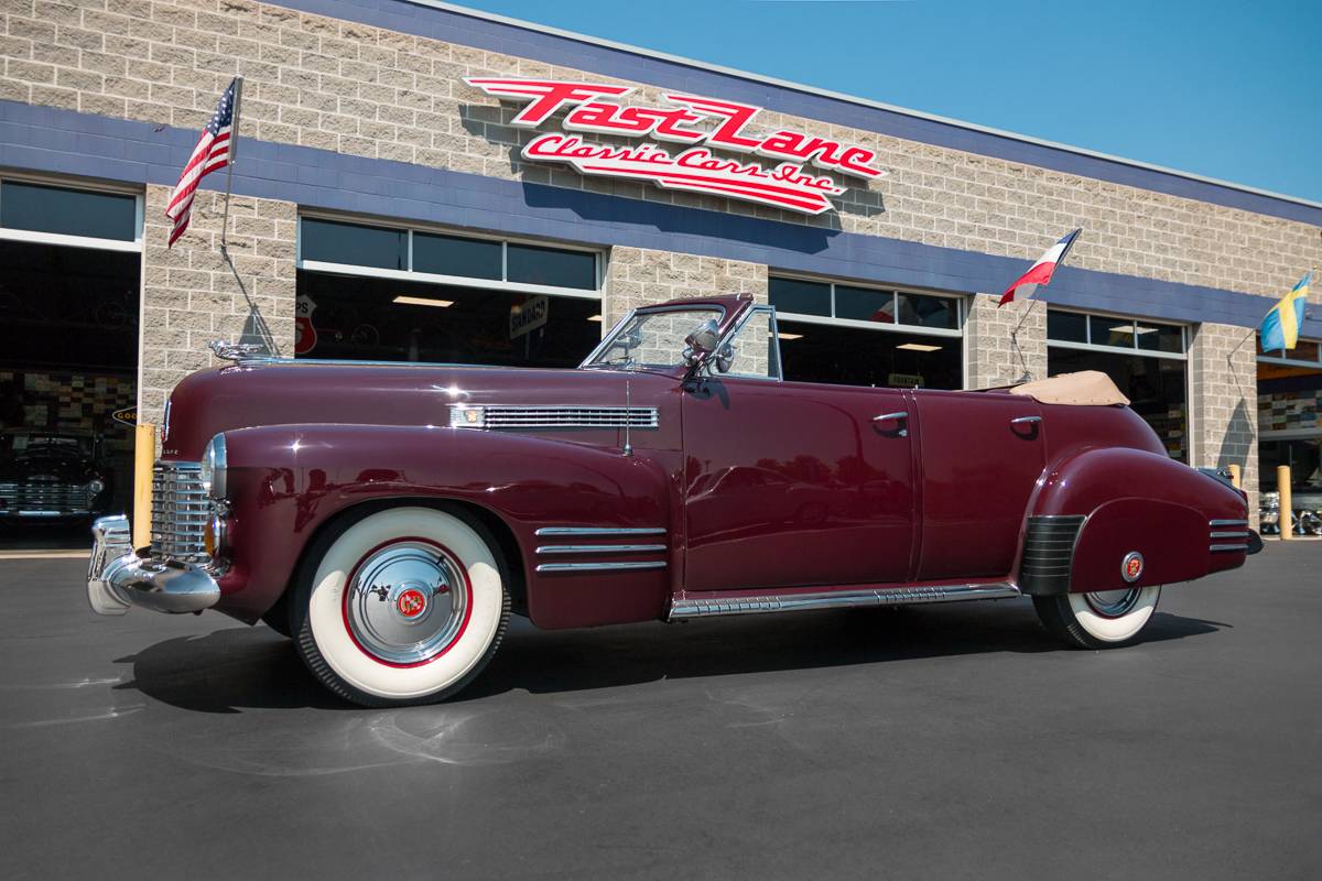 Sold Inventory Fast Lane Classic Cars 1941 Plymouth Pro Street Cadillac Series 62