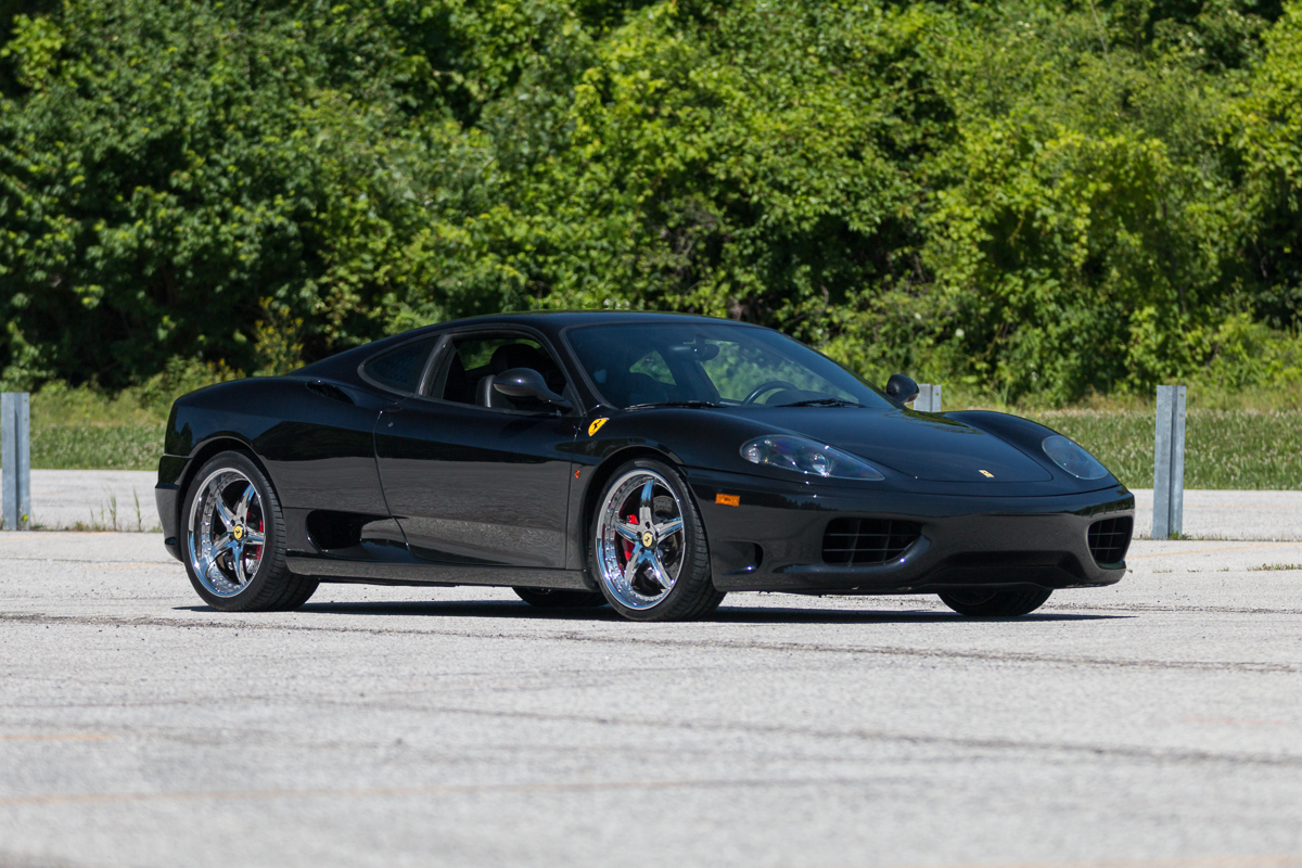 2003 ferrari 360 fast lane classic cars. Black Bedroom Furniture Sets. Home Design Ideas