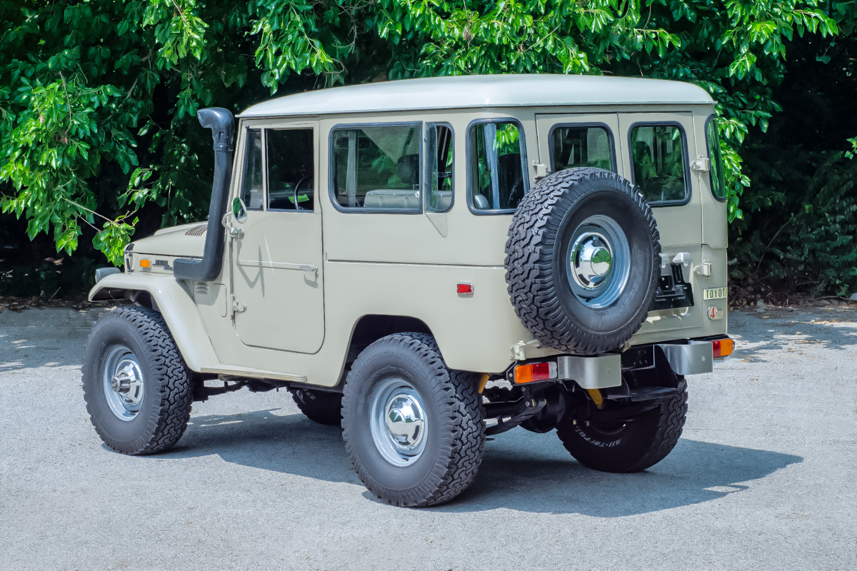 1973 Toyota Land Cruiser Fast Lane Classic Cars Original