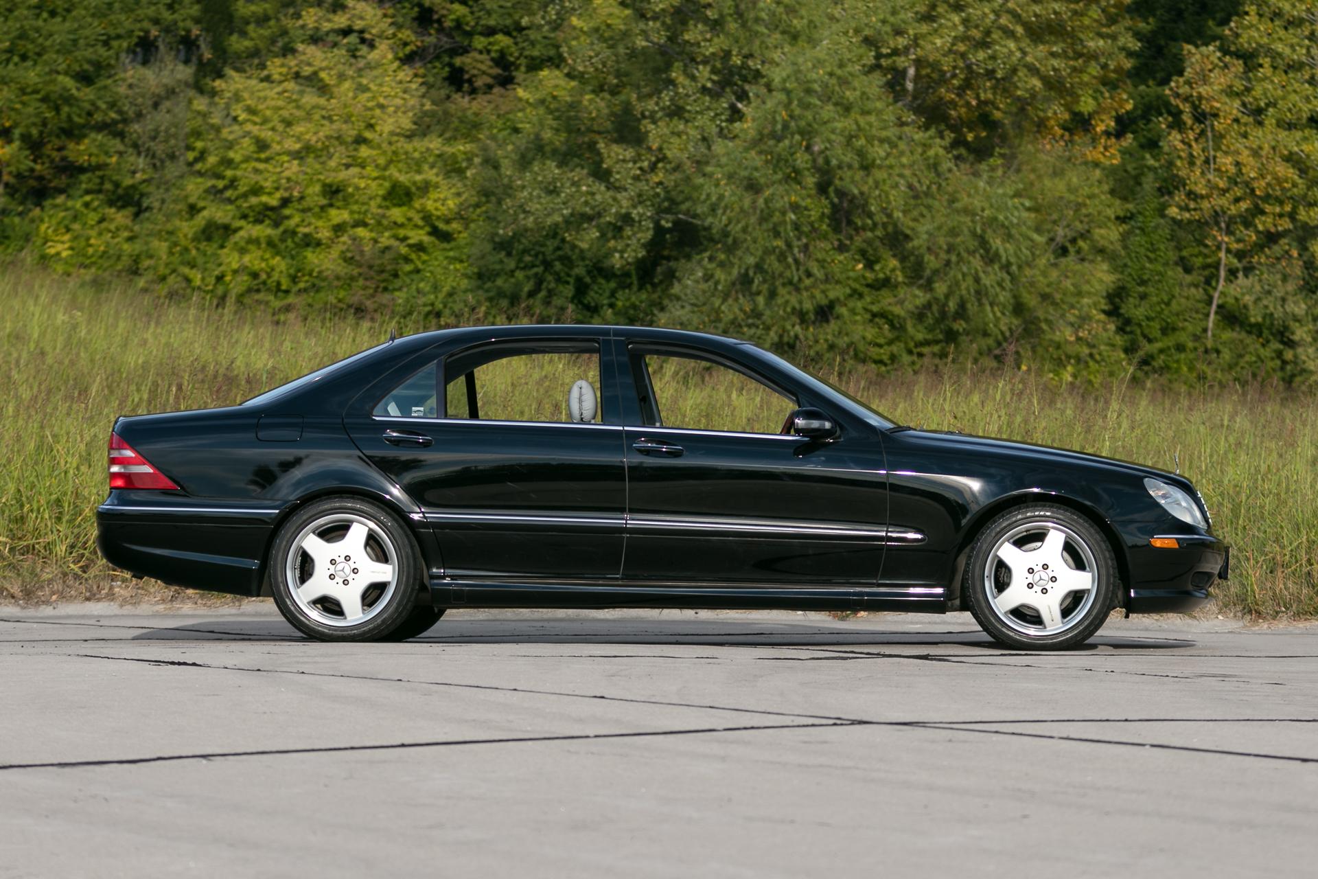 Superb ... 2001 Mercedes Benz S500 ...