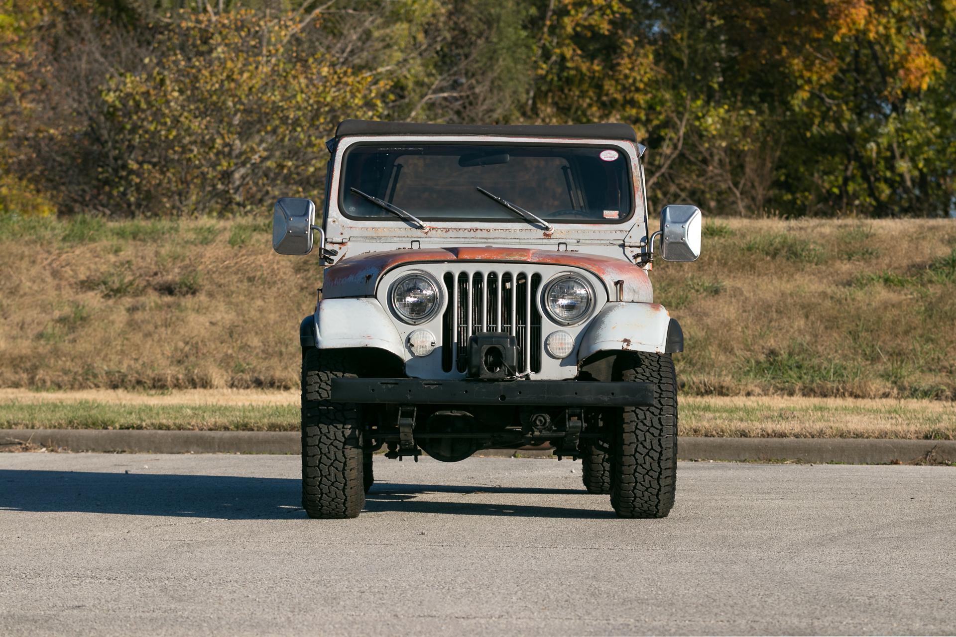 Charmant 1977 Jeep Cj Bilder - Schaltplan Serie Circuit Collection ...