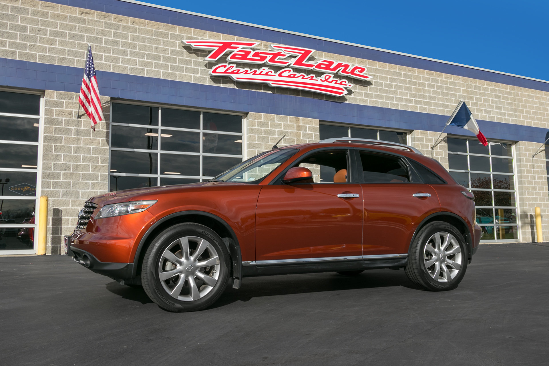2007 infiniti fx35 fast lane classic cars for Plaza motors infiniti service department