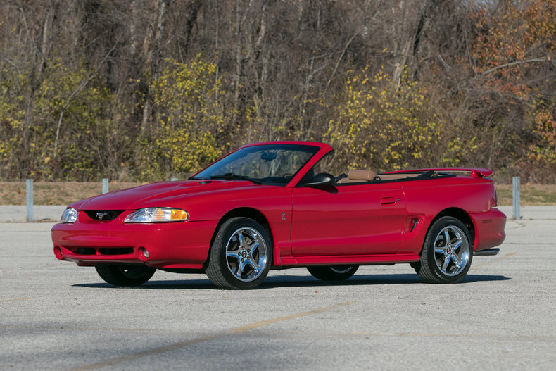 1997 ford mustang cobra for sale 74345 mcg. Black Bedroom Furniture Sets. Home Design Ideas