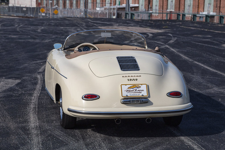 buy used 1957 porsche 356 speedster replica high quality build 1600cc 4 speed soft top in saint. Black Bedroom Furniture Sets. Home Design Ideas