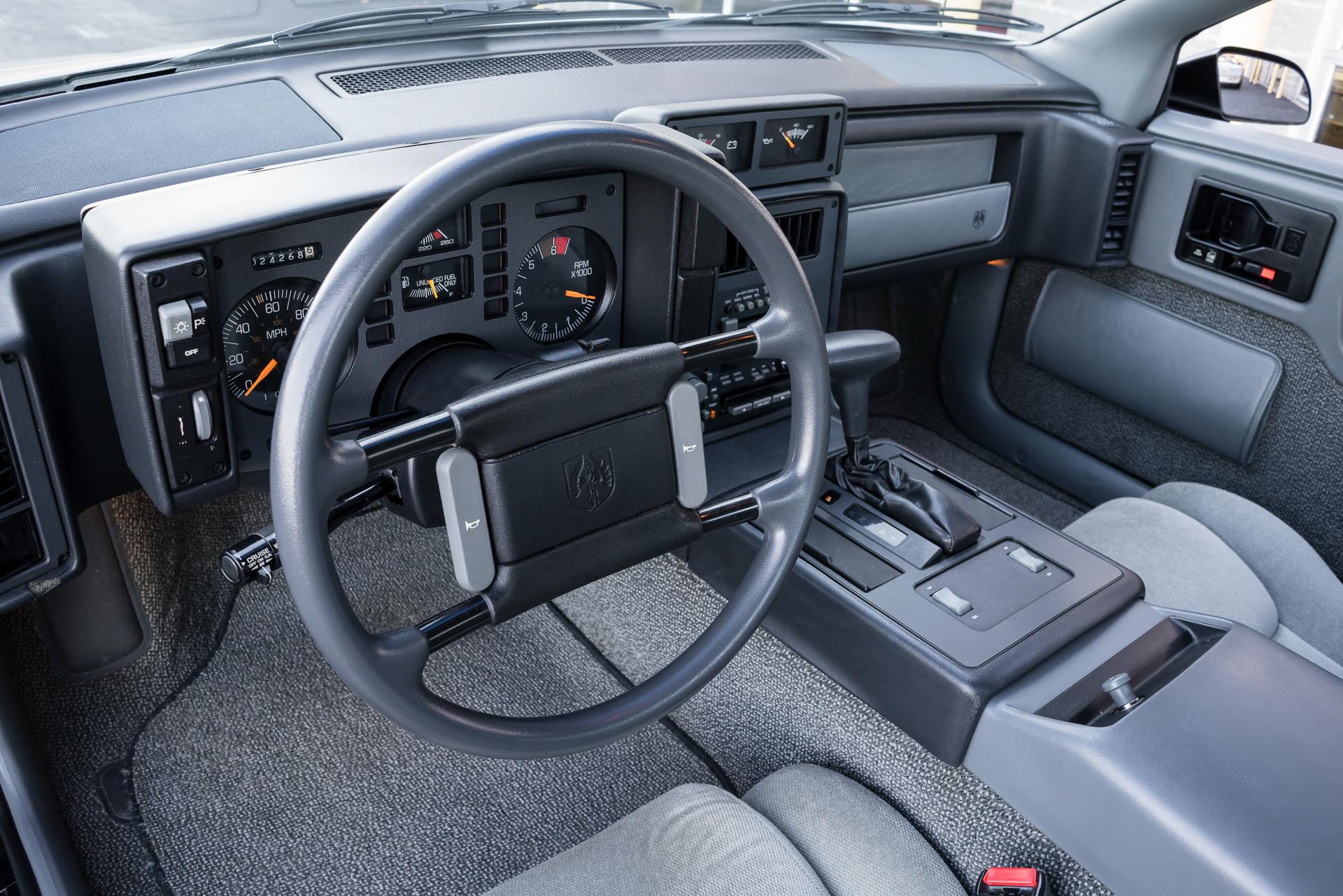 1988 Pontiac Fiero Fast Lane Classic Cars Console