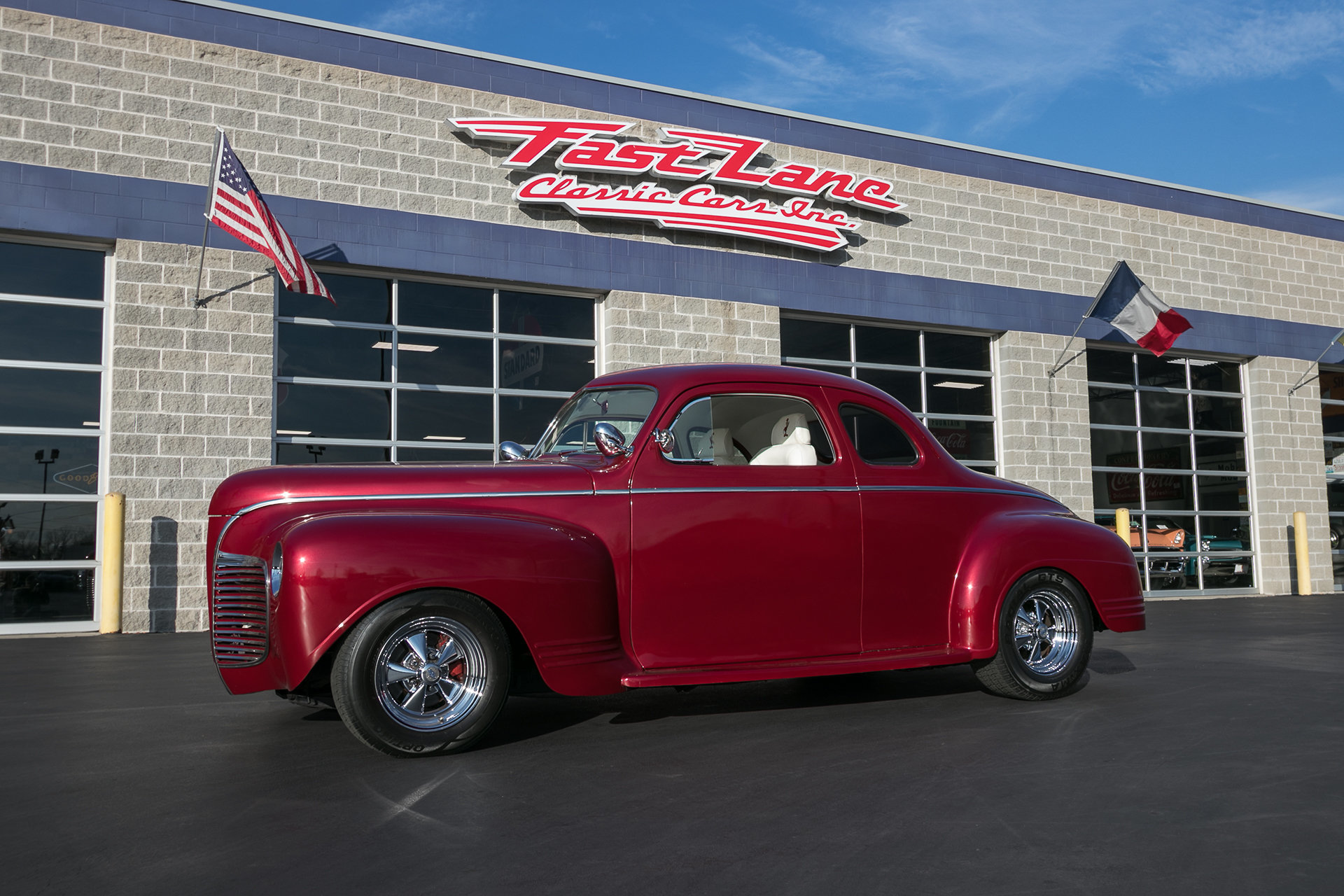 1941 Plymouth Special Deluxe Fast Lane Classic Cars 2 Door Sedan