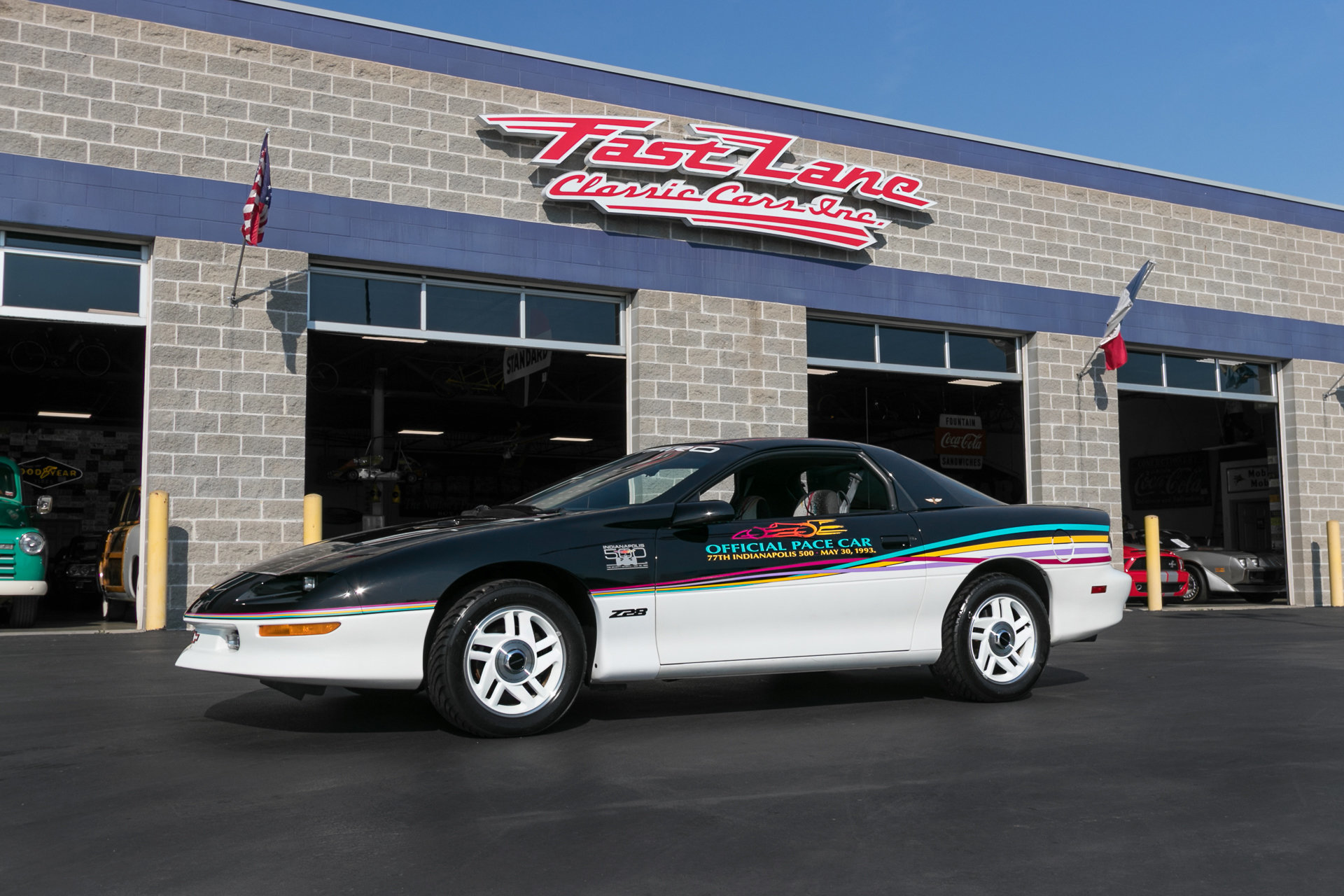 621727be3e7c6 hd 1993 chevrolet camaro pace car