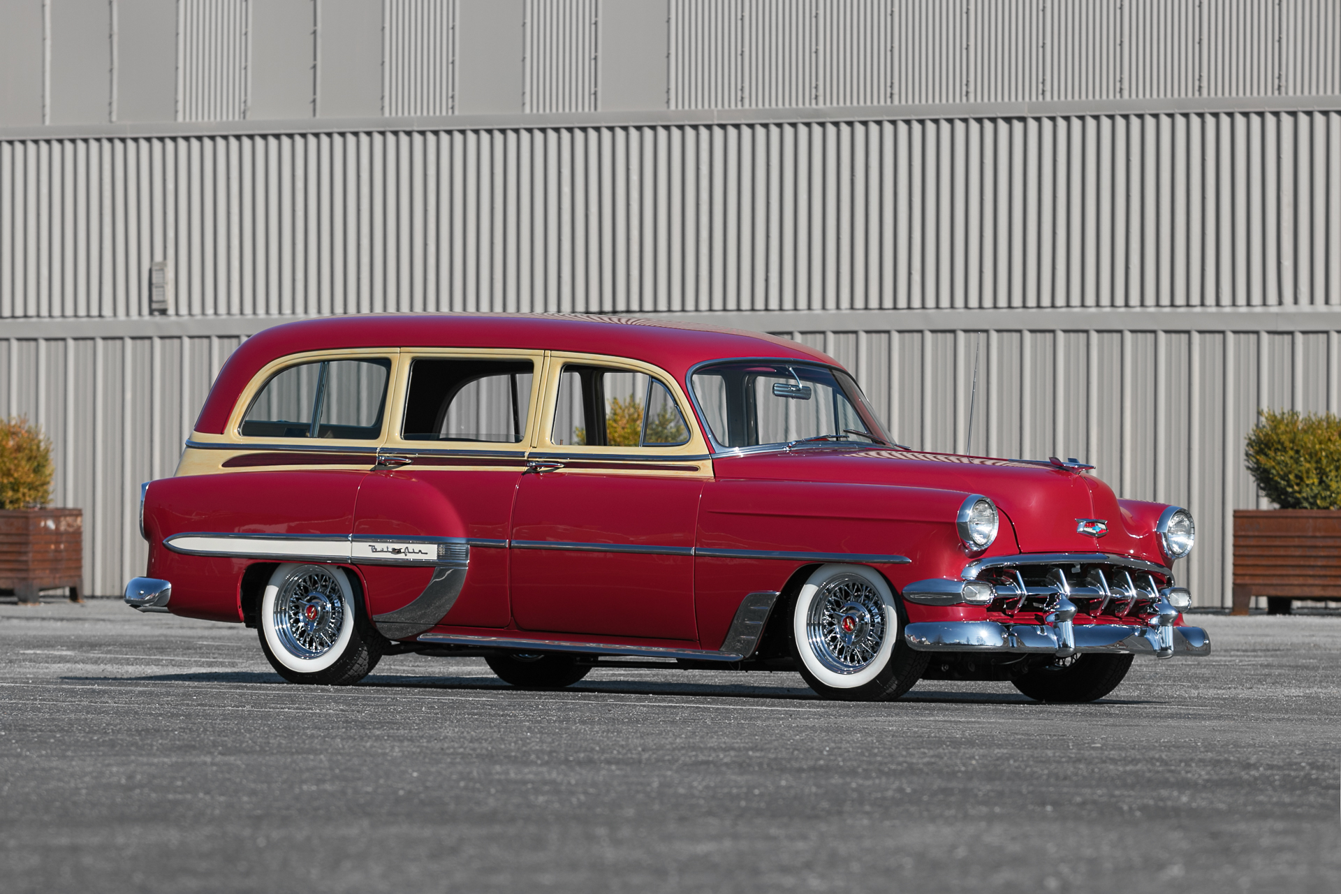 1954 Chevrolet Bel Air Fast Lane Classic Cars Chevy