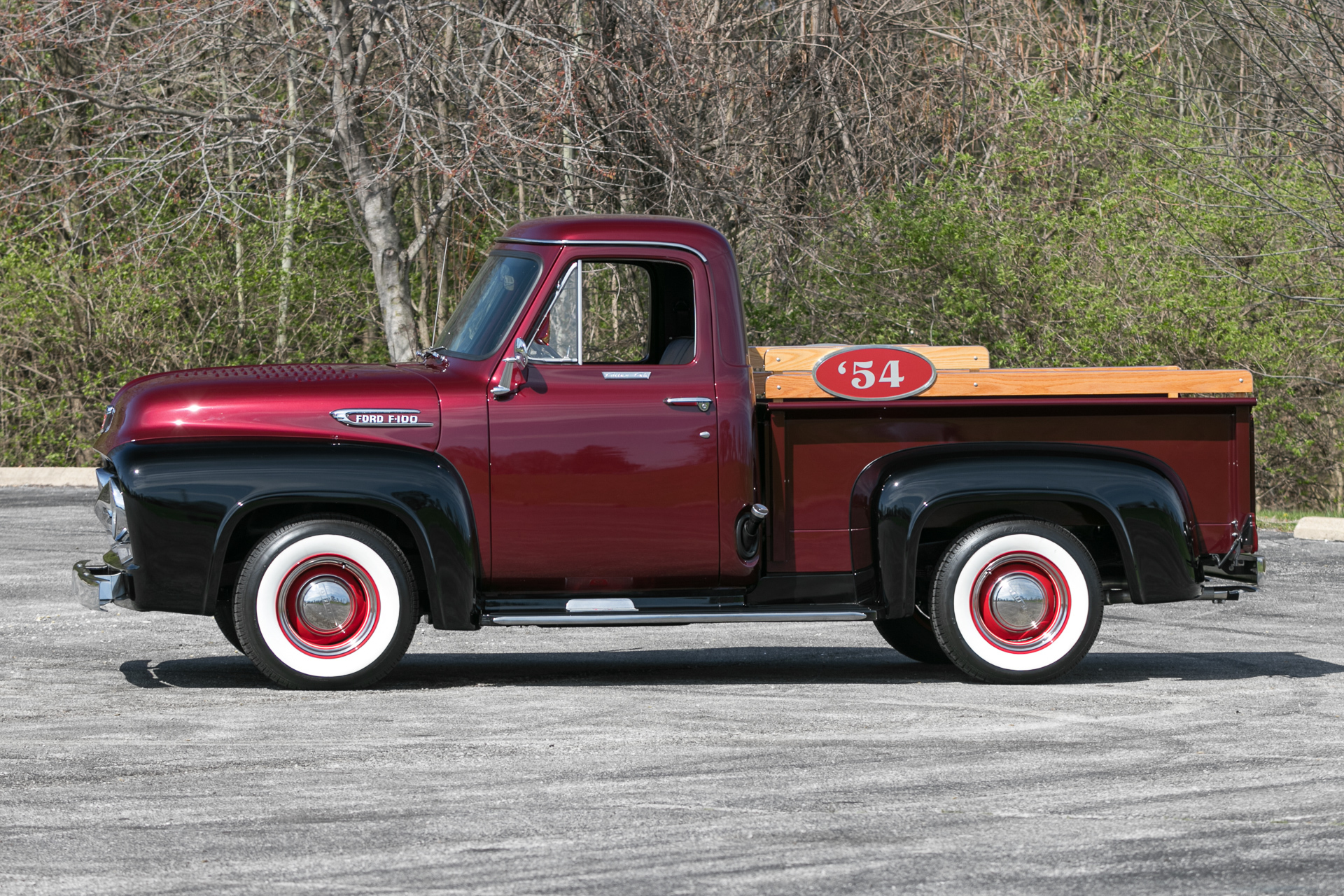 1954 Ford F100 Fast Lane Classic Cars Long Bed
