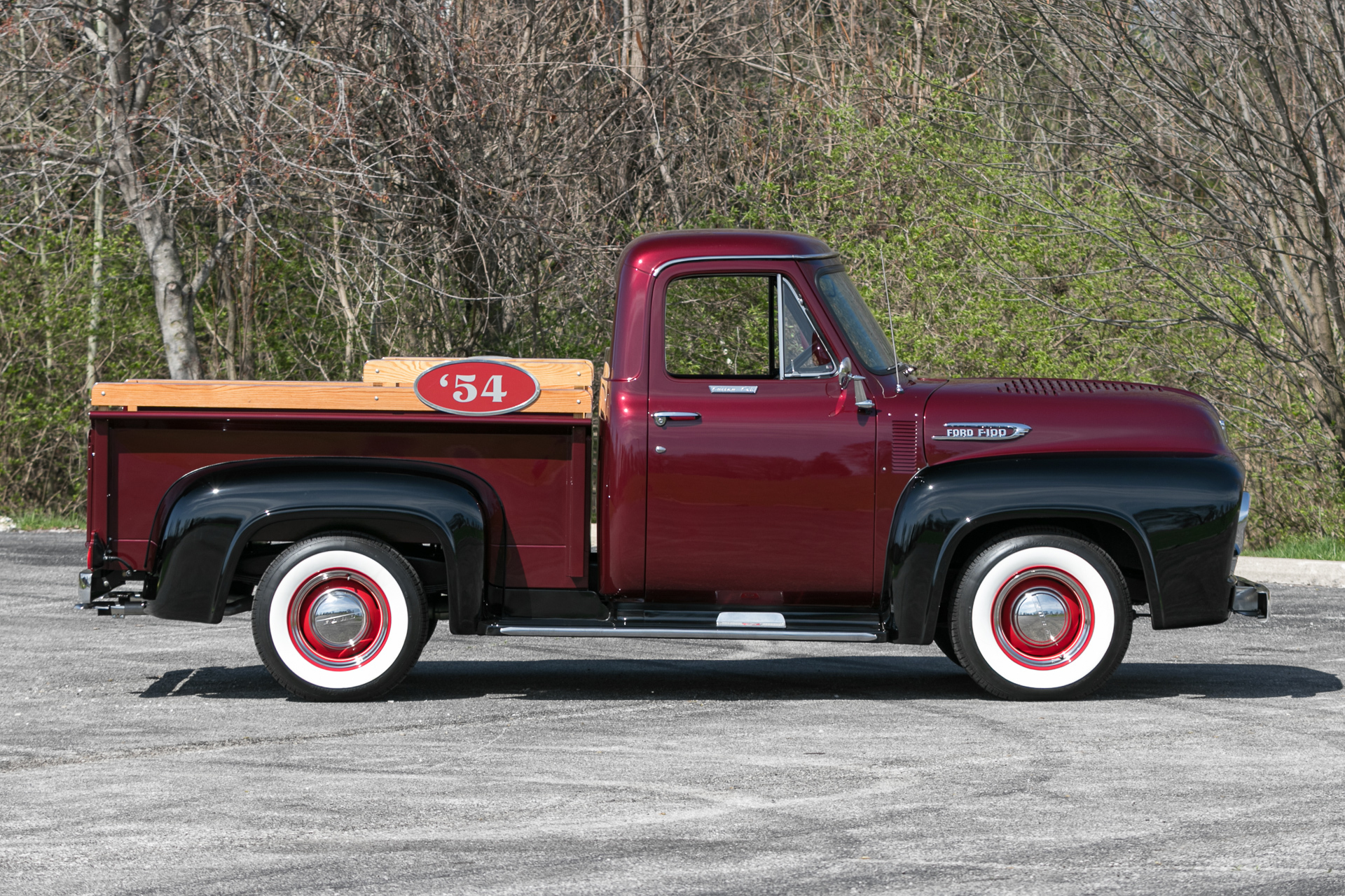 1954 Ford F100 Fast Lane Classic Cars Pickup Truck Sale