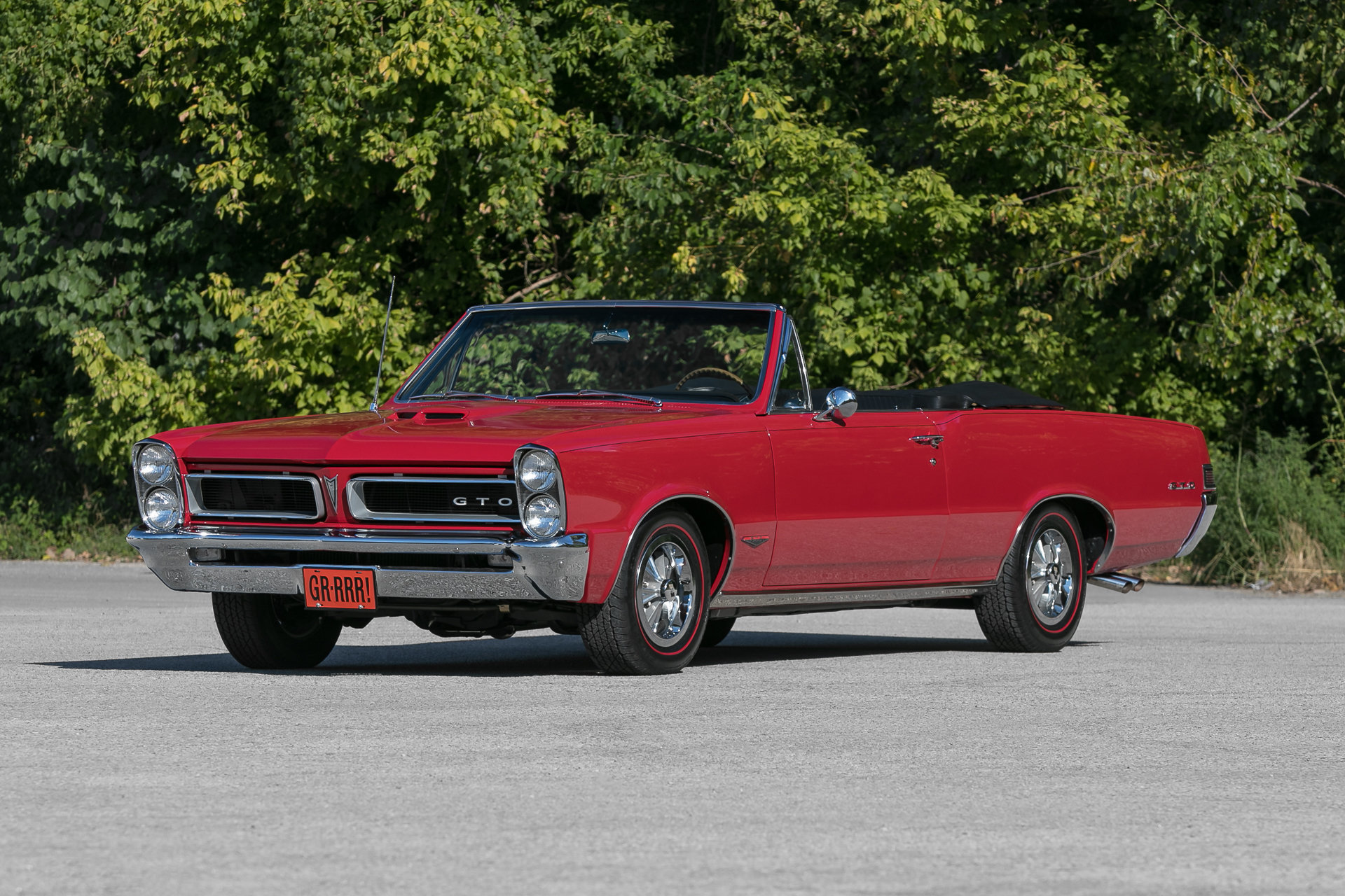 1965 Pontiac Gto For Sale 104142 Mcg Phs Documented 4 Speed Tri Power 389 Red Black