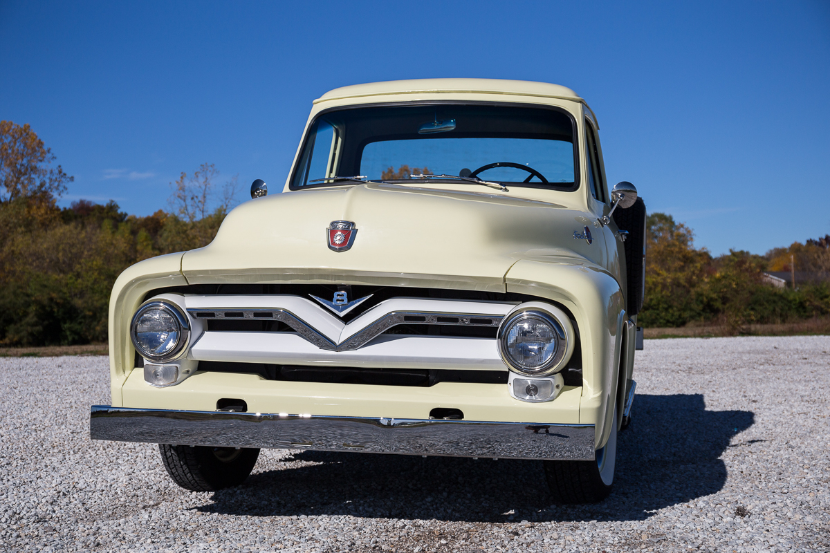 1955 Ford F100 Fast Lane Classic Cars Step Bed