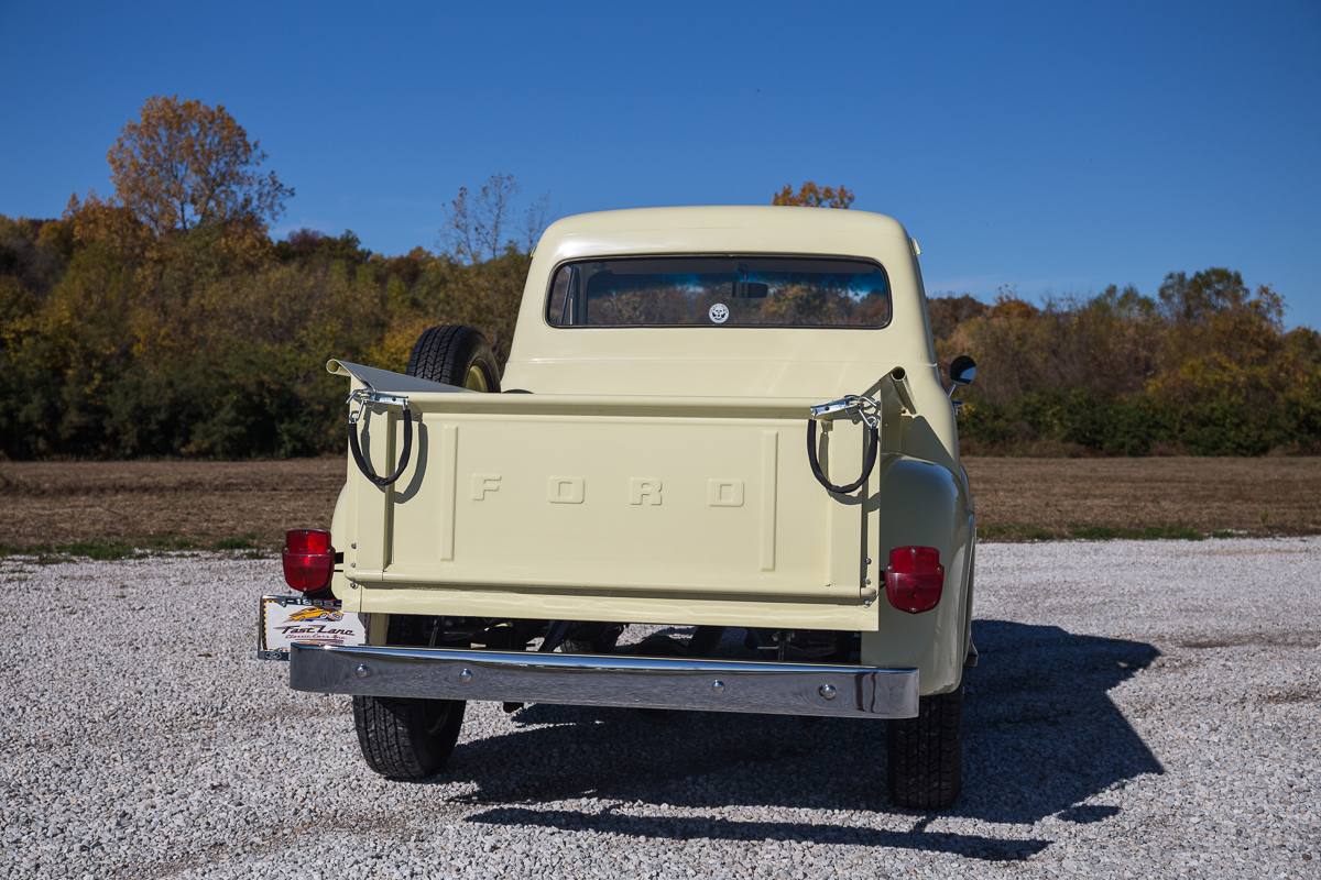 1955 Ford F100 Fast Lane Classic Cars Running Boards
