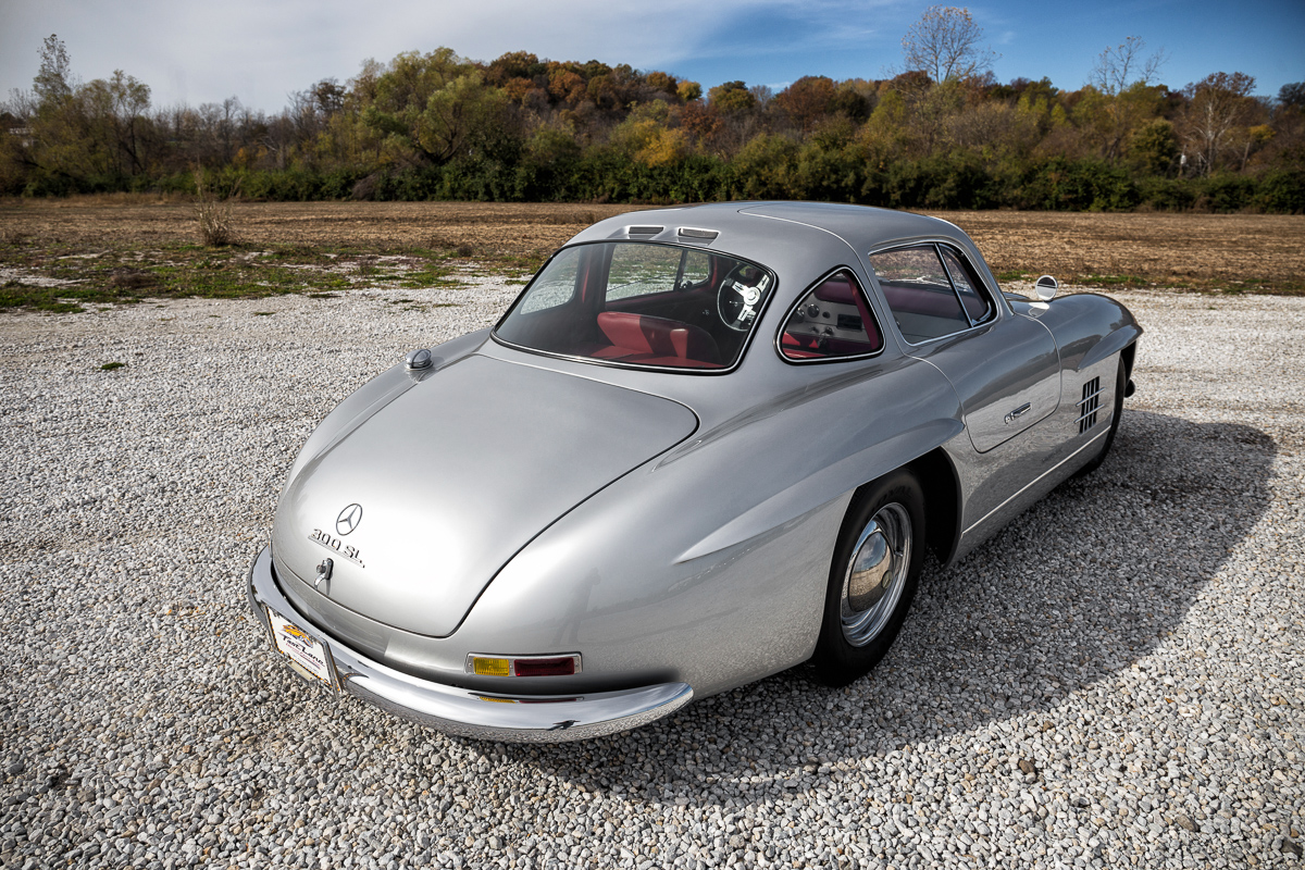1955 mercedes benz gullwing 300sl replica fast lane classic cars. Black Bedroom Furniture Sets. Home Design Ideas
